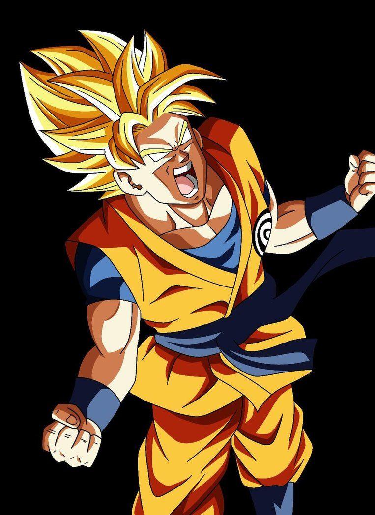 Goku Ssj Rage Cc Gi Dragon Ball Anime Dragon Ball Goku