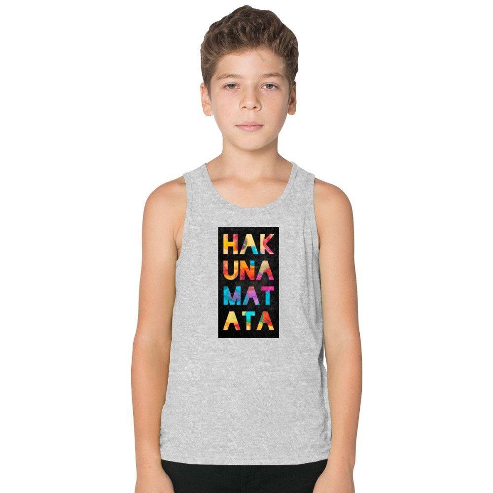 Hakuna Matata Kids Tank Top