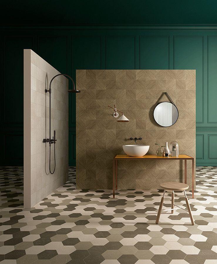 Trellis-KRONOS Ceramiche-2, Salle de bain, Espace public, Effet