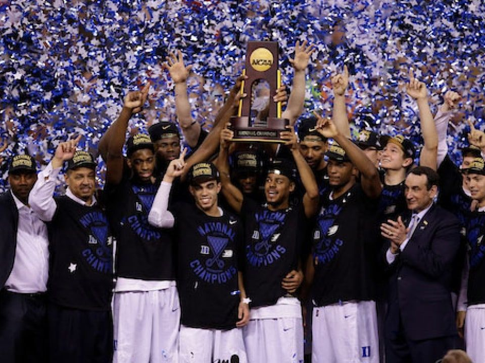 What An Undefeated Record On Jan 1 Means For March Madness Title Chances Ncaa Com Duke Blue Devils Basketball Duke Blue Devils Duke Basketball