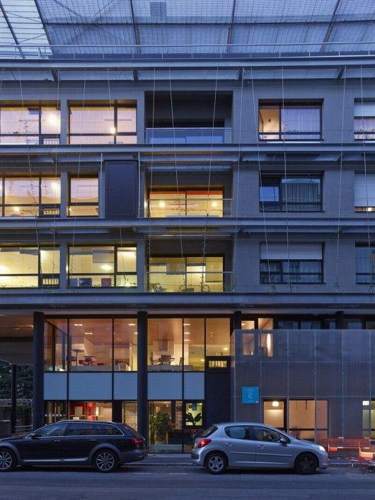 Arsitektur Modern Arsitektur Desain Arsitektur: Desain Arsitektur Interior Senior Residence Di Perancis