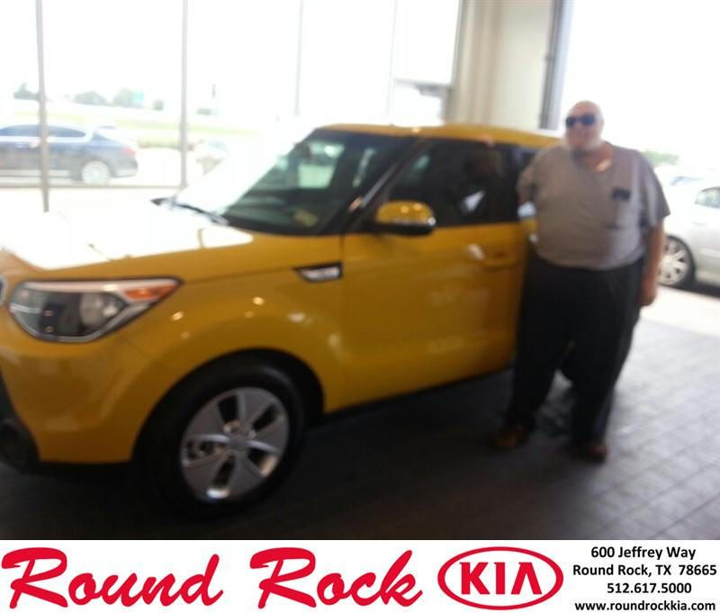 Congratulations to Harry Levy on your #Kia #Soul purchase from Fidel Martinez at Round Rock Kia! #NewCar