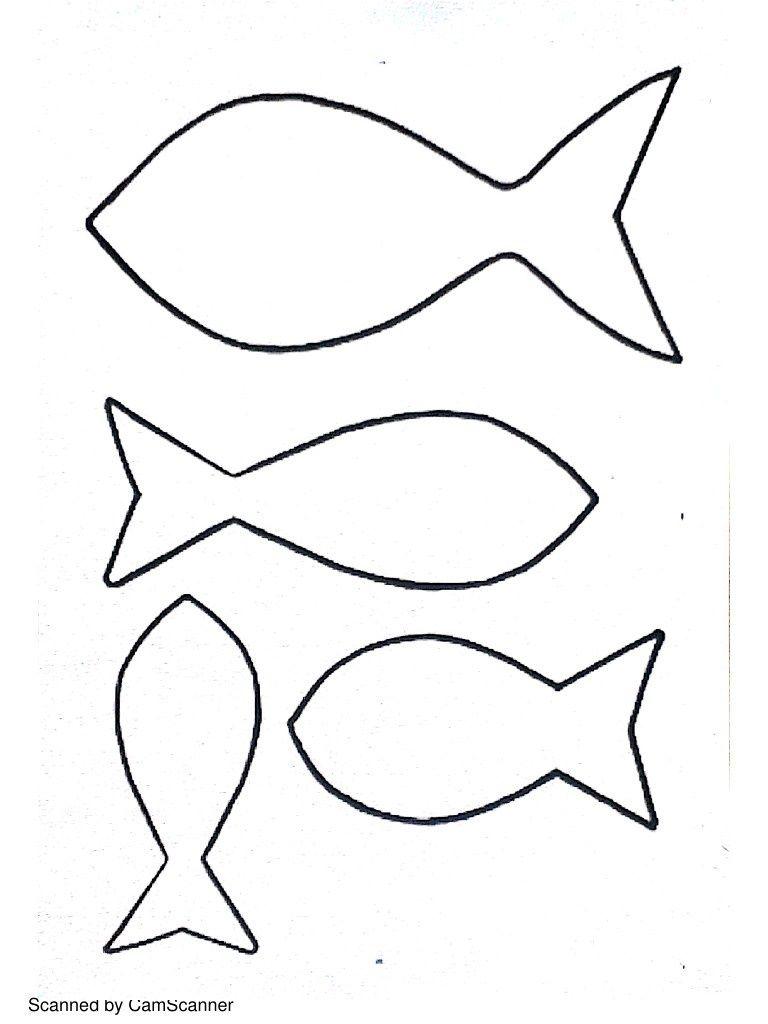 Gabarit patron pour poisson d 39 avril bricolage enfant - Poisson en maternelle ...
