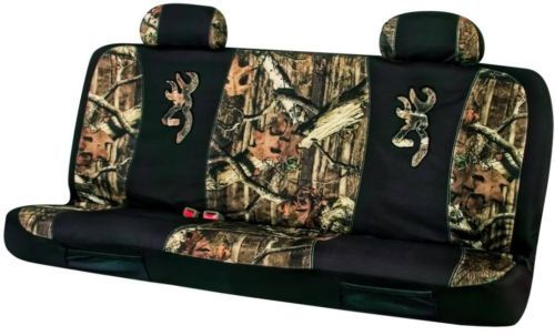 Browning Mossy Oak Camo Universal Seat Covers For Full