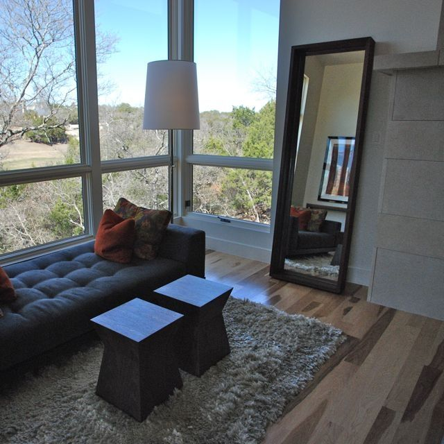 American Black Walnut Floor Standing Mirror - Solid Walnut wood and ...