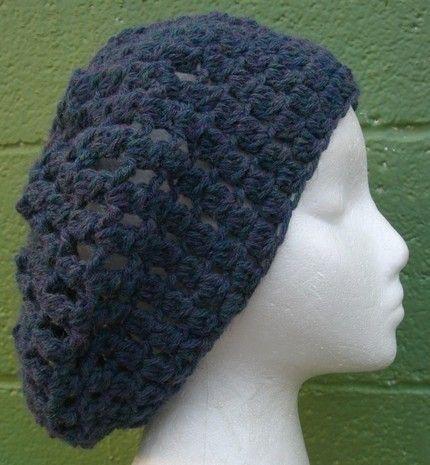 Crochet Pattern - Crochet Hat - Slouchy Hat Pattern - Slouchy Hat ...