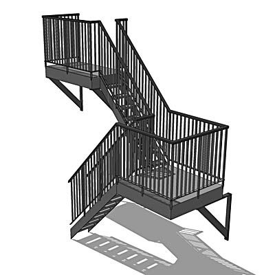 Best Related Image Stair Plan Stairs Fire Escape 400 x 300