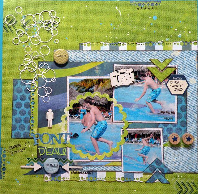 Le Petit Monde De Glamotte Scrapbooking Layouts Scrapbook Kids Rugs