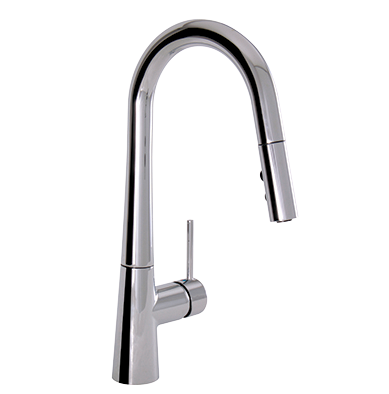 Bettola #40875 SINGLE-CONTROL PULL-DOWN KITCHEN FAUCET Ceramic ...