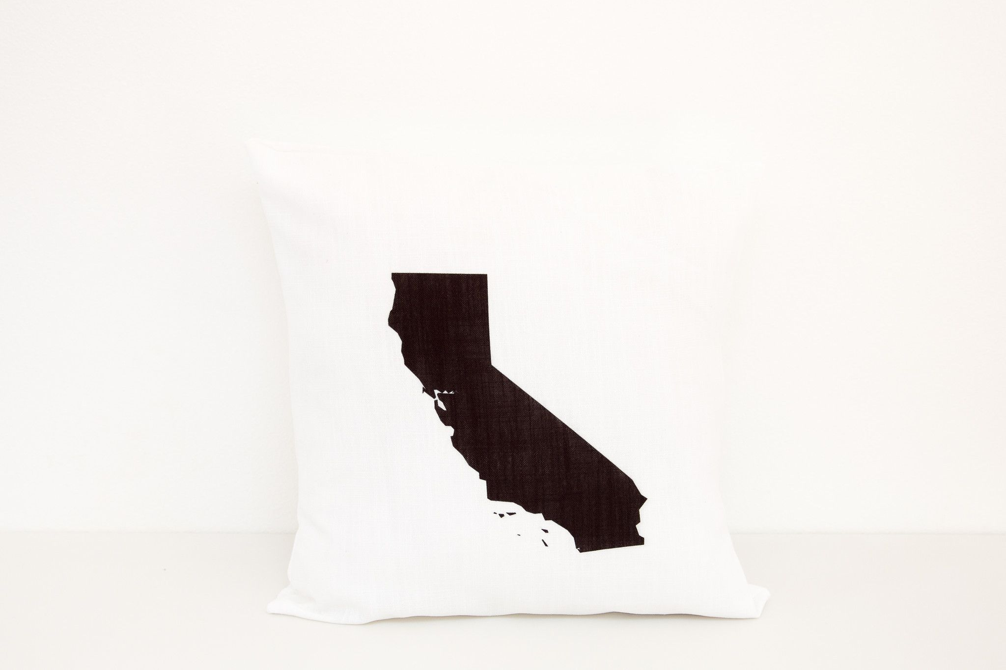 State Pillow Cover | 18x18 Pillow | Customized Gift for Traveler ...