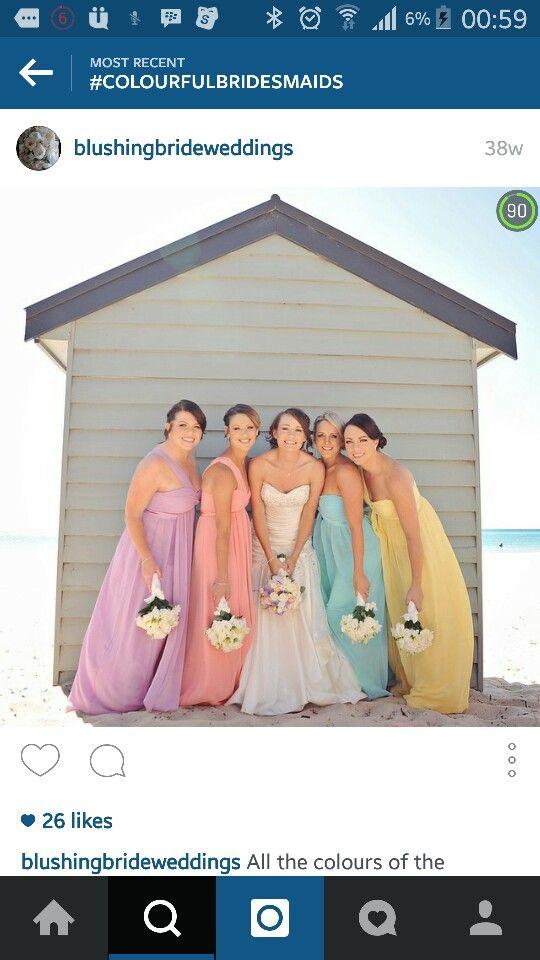 Bridesmaidsrainbow