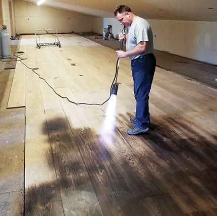 Pin On Burnt Wood Floors