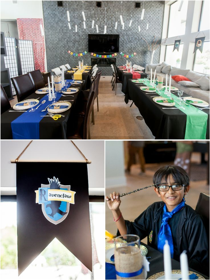 Photo of Harry Potter Inspired 9th Birthday Party