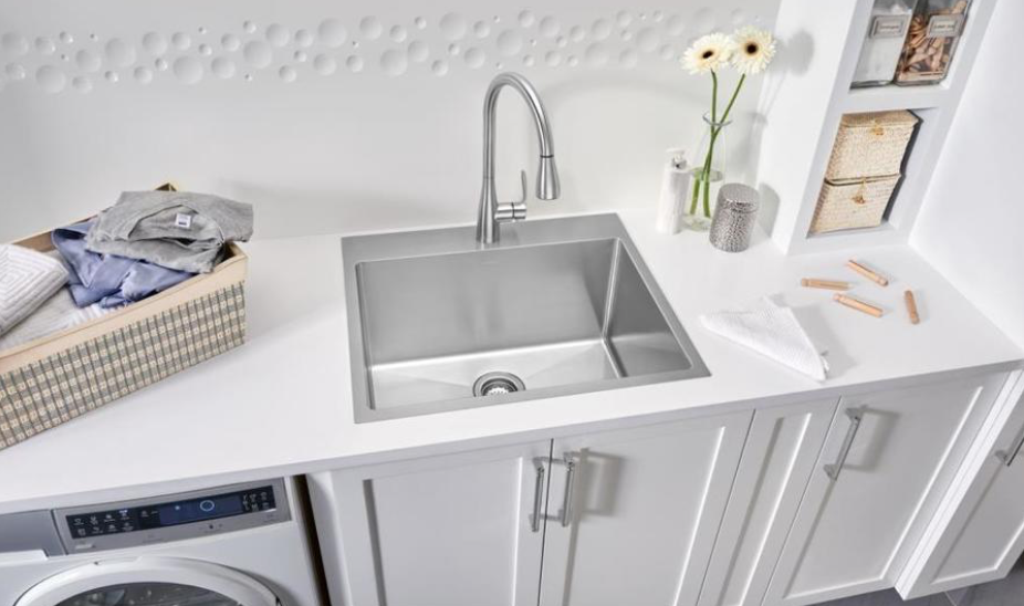 Undermount Stainless Steel 25 X 12 D Laundry Sink Sink