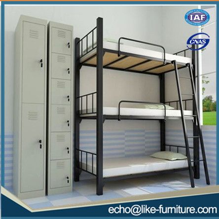 Source High Quality Bedroom Furniture Cheap Used Triple Metal Bunk Metal Beds For Sale On M Alib Bunk Bed Designs Bunk Beds With Stairs Metal Bedroom Furniture
