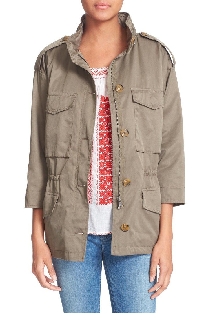 LOVE this cargo jacket