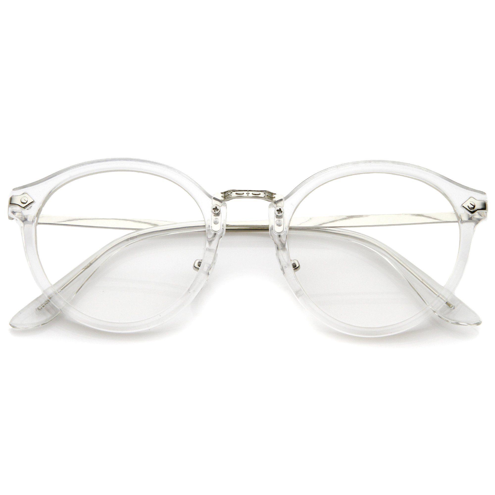 df4ebdd8a02f Ornate Engraved Vintage Dapper Clear Lens Glasses A844