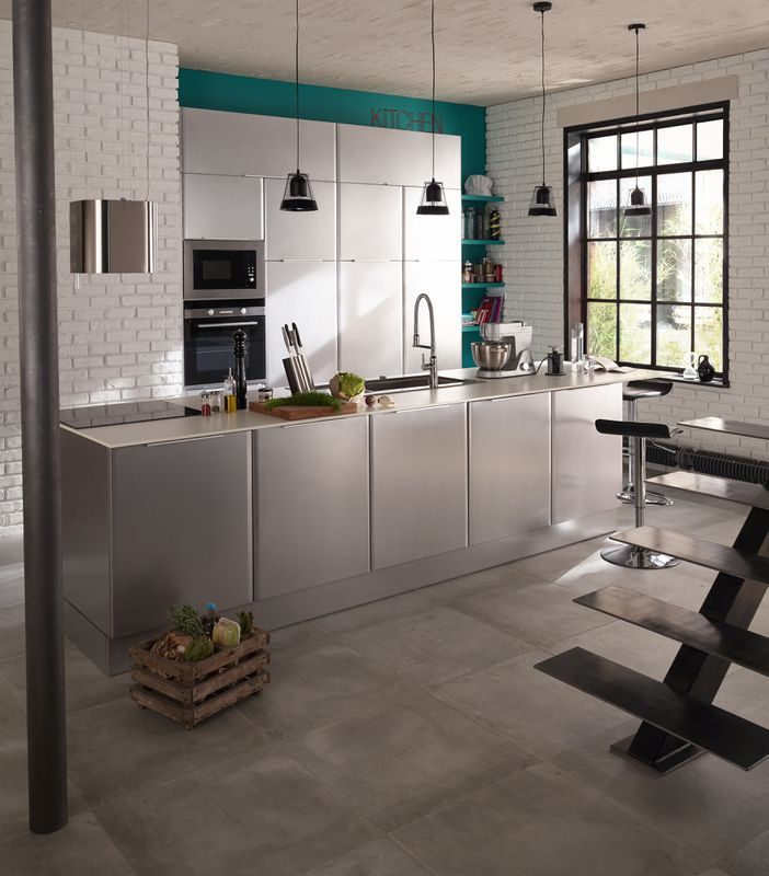 cuisine cooke lewis subway inox castorama h o m e pinterest kitchen design interior. Black Bedroom Furniture Sets. Home Design Ideas