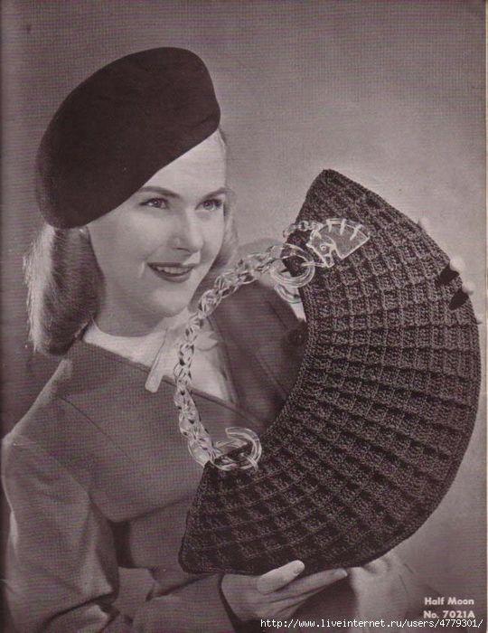 1940 Vintage Bolsos