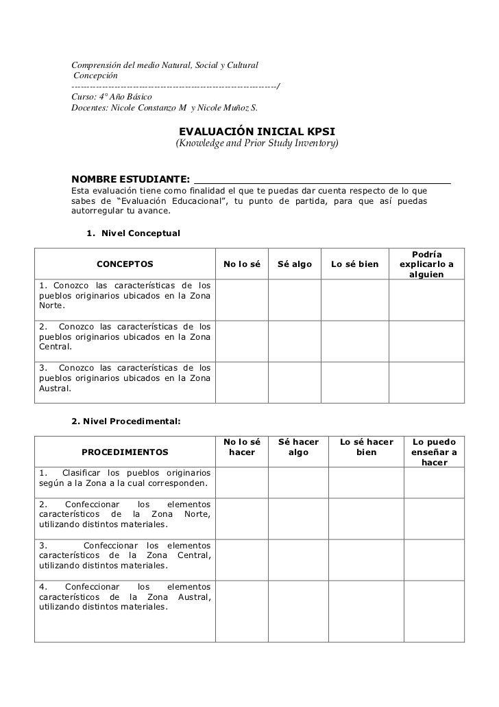 Comprensión del medio Natural, Social y Cultural<br /> Concepción<br…