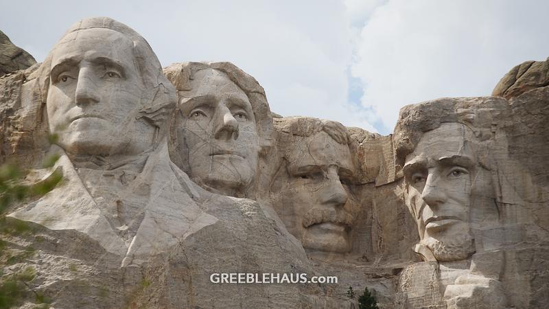 Zoom Backgrounds Greeblehaus Mount Rushmore Spring Trip South Dakota