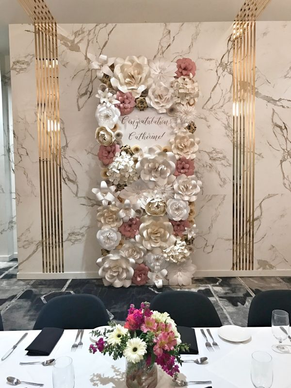 Paper Flower Wall Rental Paper Flower Wall Rentals And Paper Flower Arch Rental For Weddings Bridal Flower Wall Rental Paper Flower Backdrop Paper Flower Wall