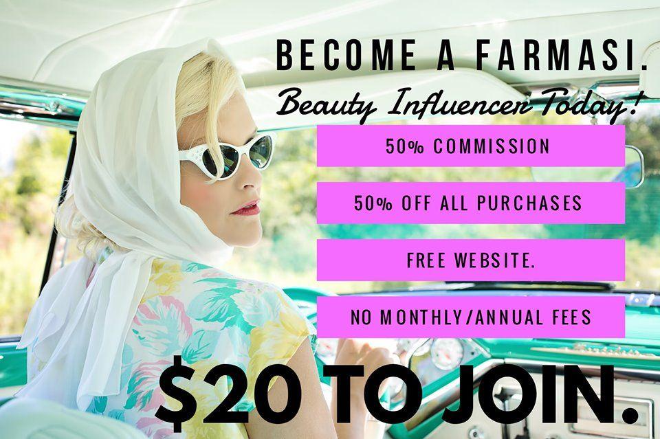 At Farmasi we have 100 natural skincare products, makeup
