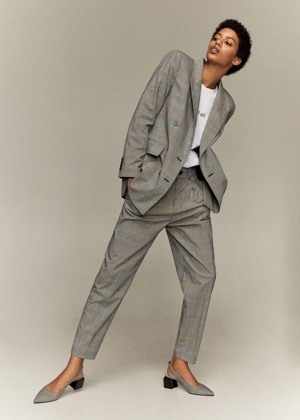varios tipos de selección premium buscar genuino Pantalón traje príncipe de gales - Mujer | w e a r | Trajes ...