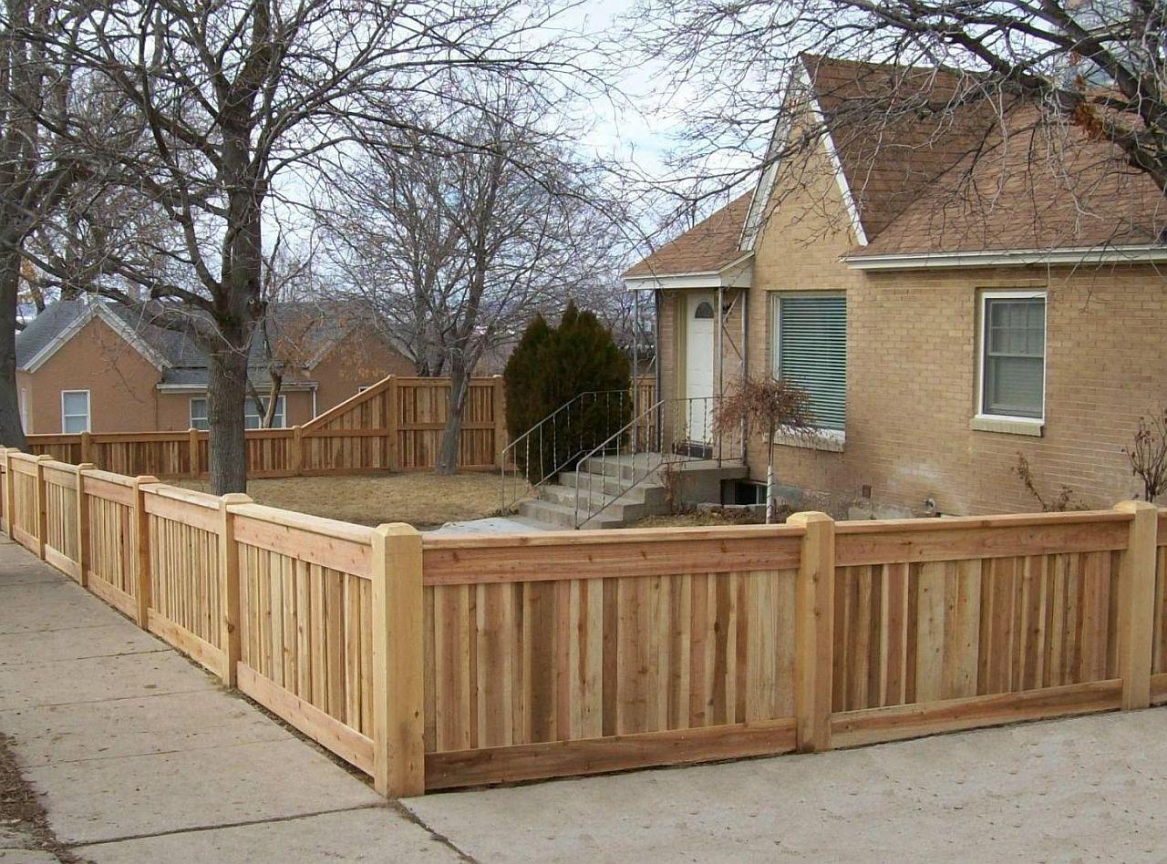 Short Fence Wood Fence Design Fence Design Backyard Fences