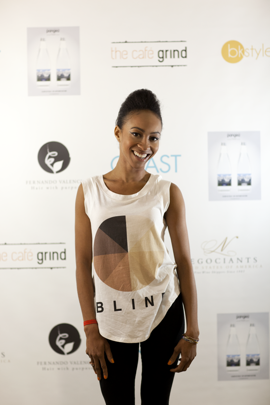 @Allison Semmes wearing @COLORBLIND Campaign at @COAST SHOWS via @bkstyled. Photo by @Rima Brindamour