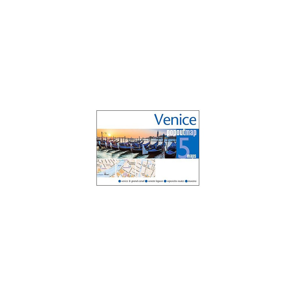 Venice Popout Map ( Popout Map S.) (Revised) (Sheet Map, folded)