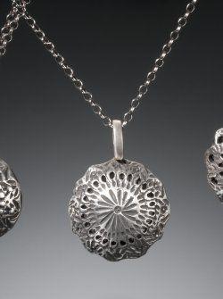 Making Metal Clay Bell Pendants Online class with Erin Harris