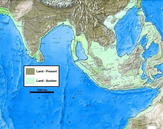 Indian Mythology Ice Age Map Ancient Maps Old Maps