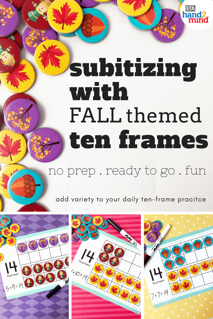 Use these awesome Fall ten frame activities to practice addition and ...