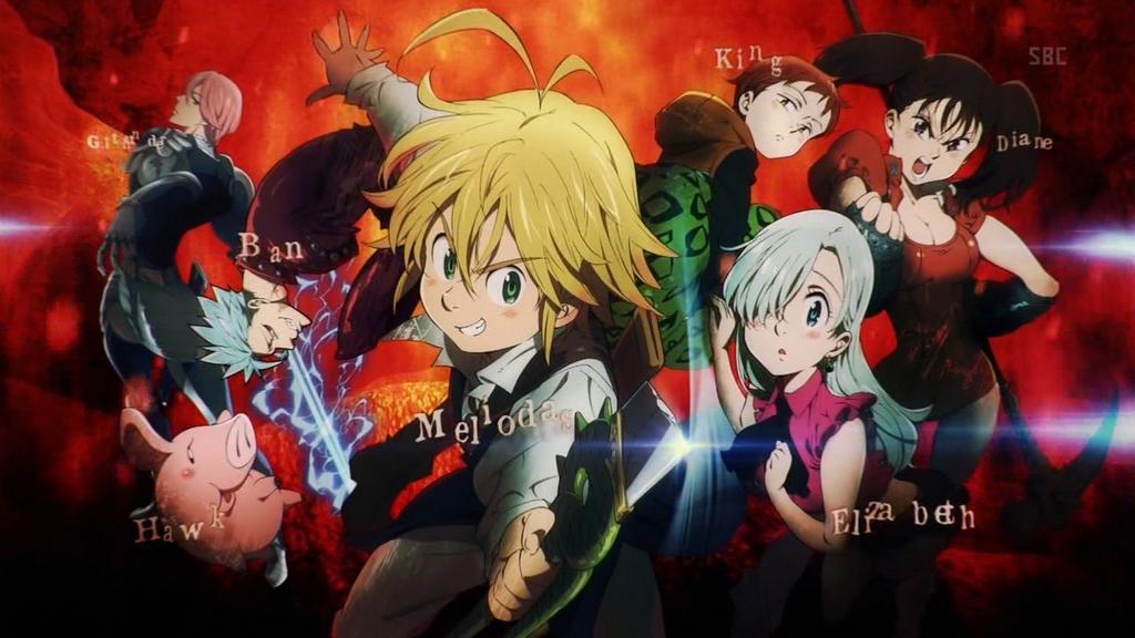 Nanatsu no Taizai   Nanatsu No Taizai   Bleach anime, Bleach