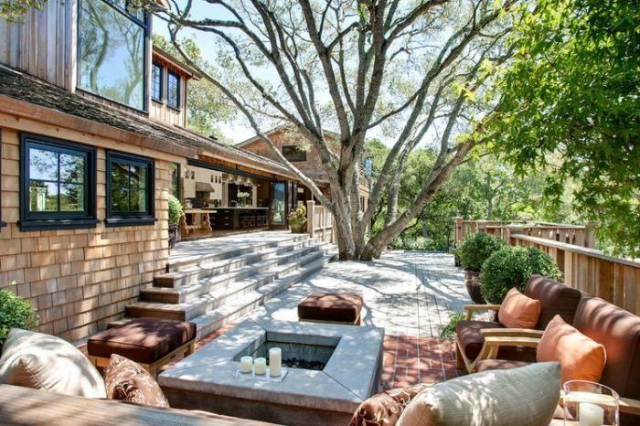 20 idées créatives d\' aménagement terrasse ensoleillée | exterieur ...
