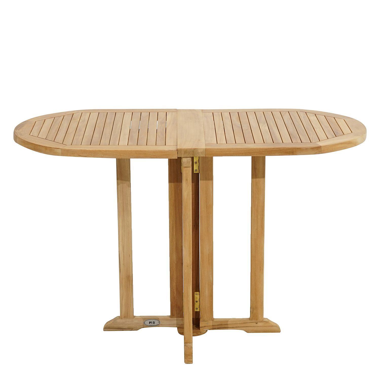 Table De Balcon Vancouver In 2020 Gartentisch Holz Klappbar