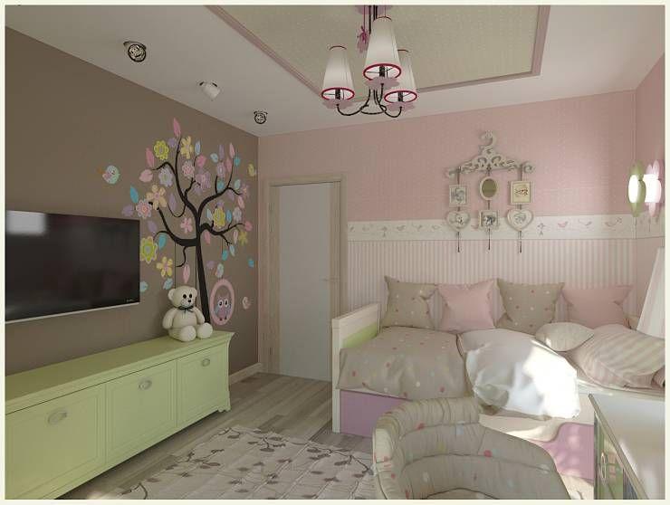 Babyzimmer mädchen modern  Die schönsten Ideen für ein Mädchen-Zimmer | Kinderzimmer für ...