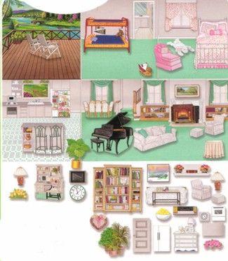 Barbie Printable Dollhouse Stuff | dolls and printable dollhouse furniture  decorations : art .