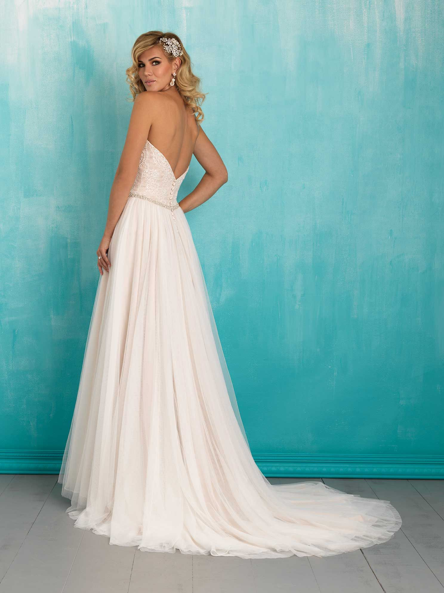 Allure Bridals 9324 Available At Lulu S Bridal Boutique Dallas Texas Salon Wedding Dresses