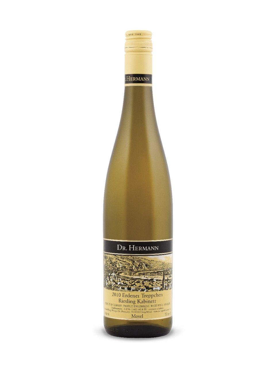 Dr. Hermann Erdener Treppchen Riesling Kabinett 2010  Pradikätswein, Mosel, Germany  Natalie's Score: 90/100  http://www.nataliemaclean.com/wine-reviews/dr-hermann-erdener-treppchen-riesling-kabinett-2010/214429  #wine