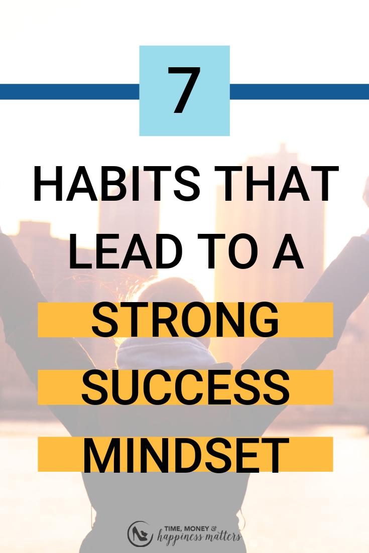 Daily Success Mindset Habits