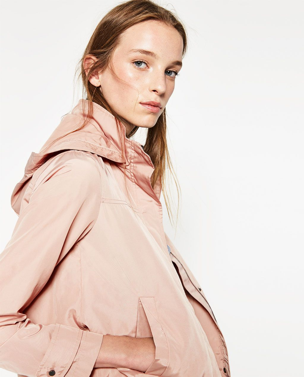 b7bc1f55 WATER REPELLENT JACKET-OUTERWEAR-WOMAN | ZARA United States | really ...
