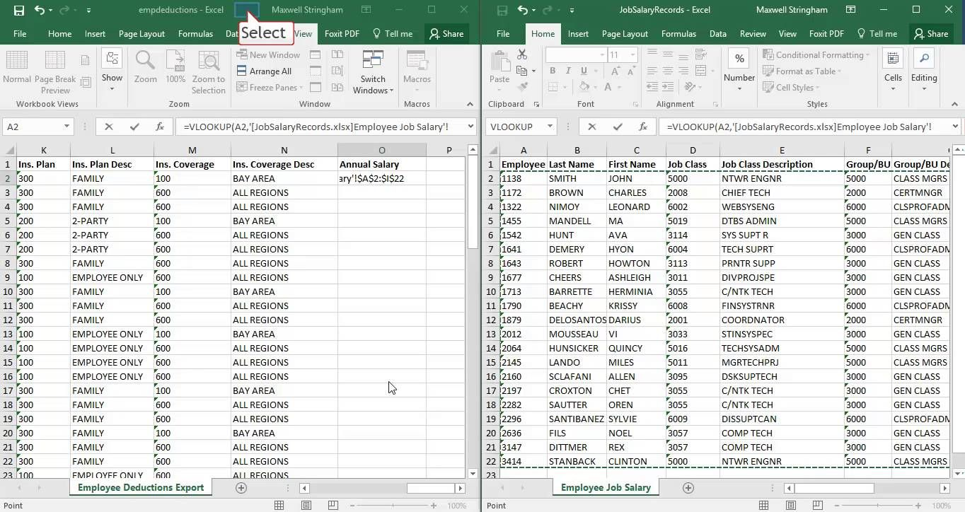 Excel VLOOKUP With Multiple Workbooks - YouTube   Work