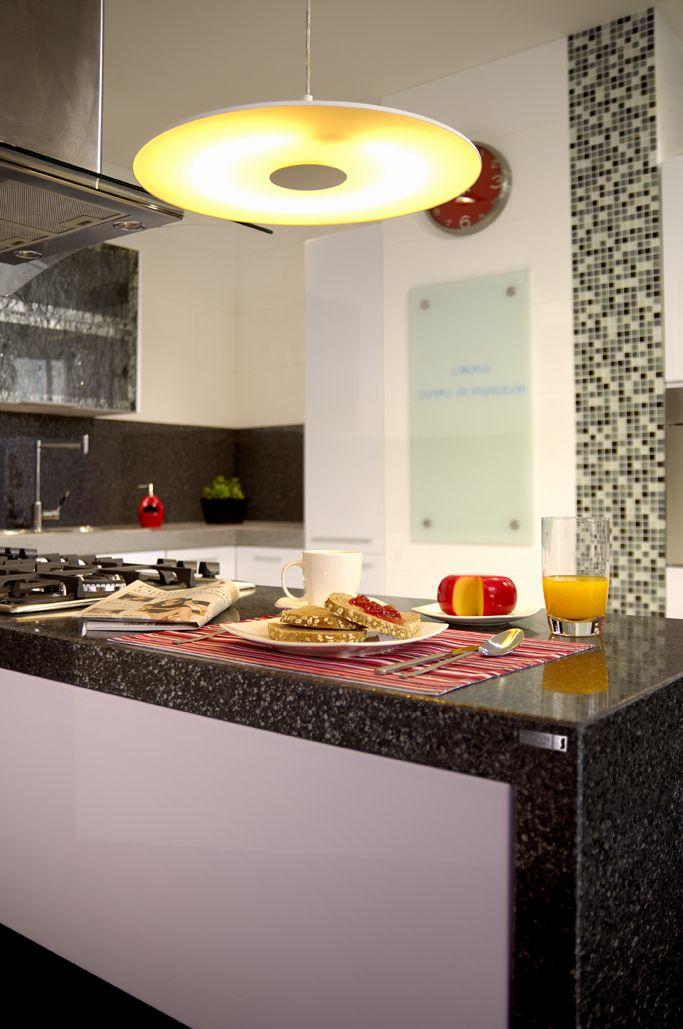 Mosaicos en la cocina. Elige unos que hagan contraste con el mesón ...