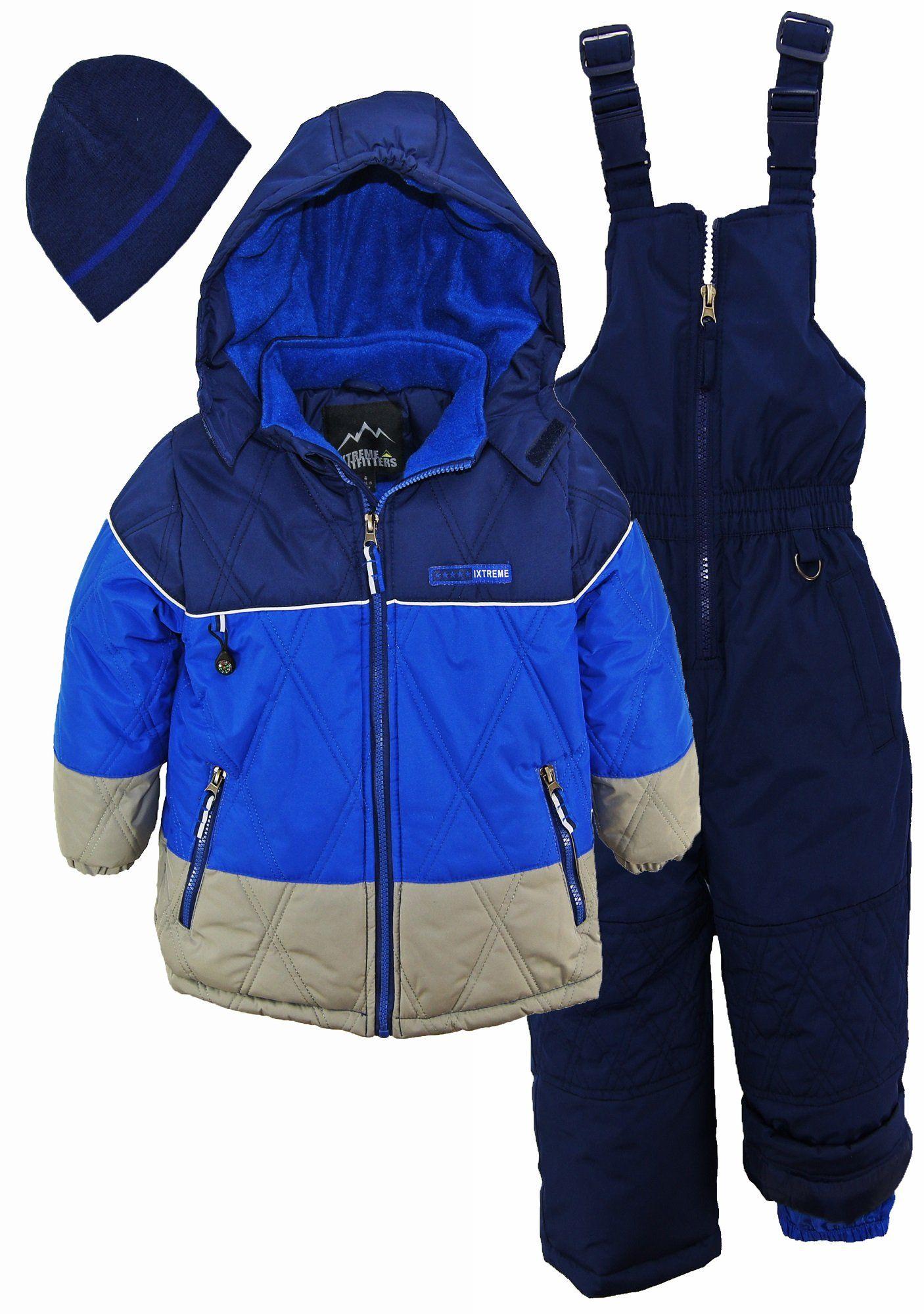 f54ec8a405d6 iXtreme Toddler Boys  Colorblock Better Snowsuit