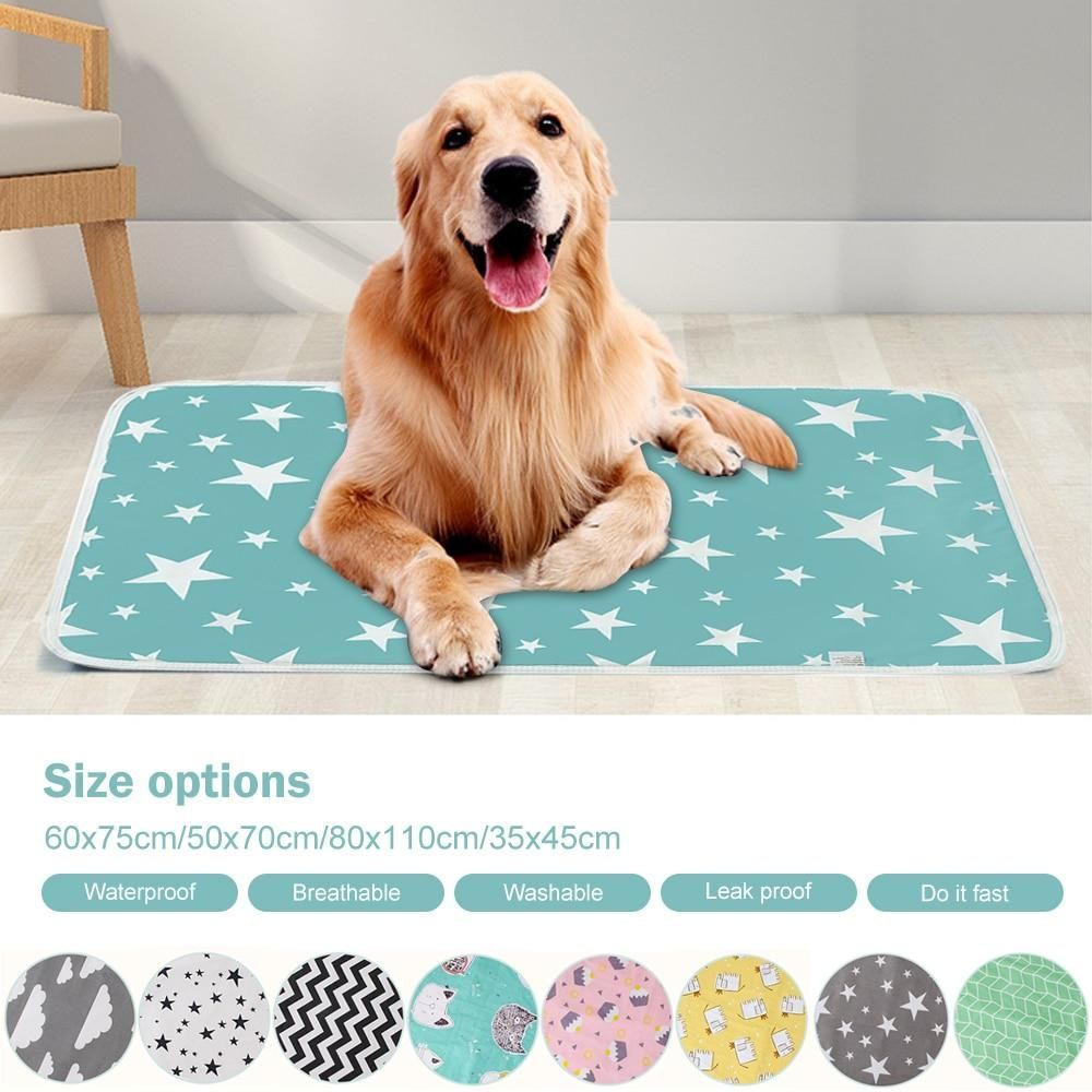 Waterproof pet bed Cat Dog Mat Puppy Pee Pads Washable