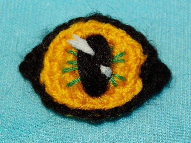 Amigurumi Eyes Pattern : Amigurumi diy by angiegurumi: amigurumi cat eyes ♥ amigurumi