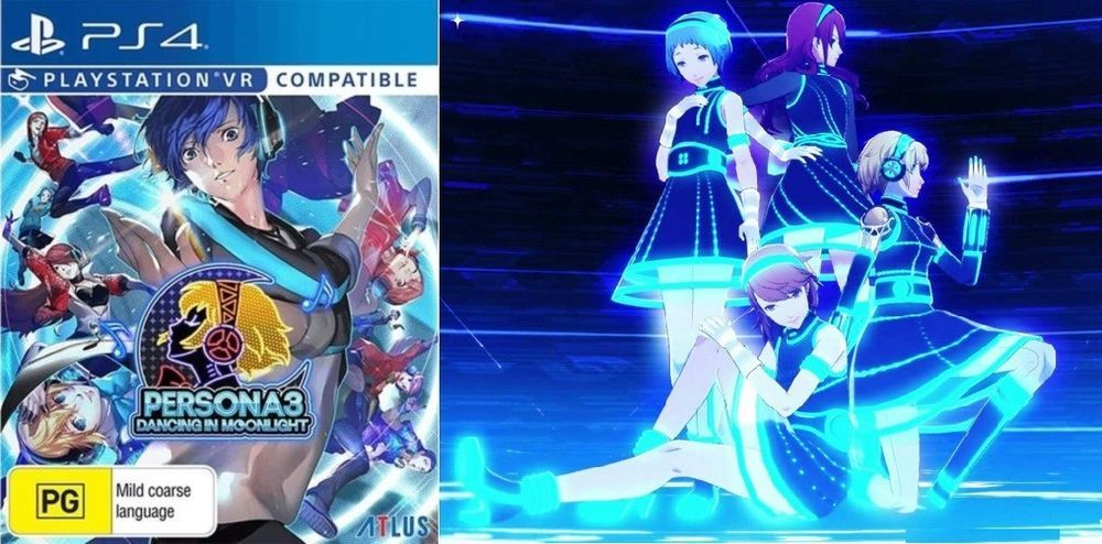 Persona 3 Dancing In Moonlight Anime Dance Game Sony