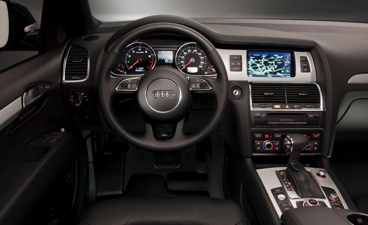 2013 Audi Q7 SLine interior Audi q7, Audi, Audi q5